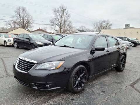 2012 Chrysler 200 for sale at Samford Auto Sales in Riverview MI