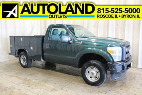 2011 Ford F-250 Super Duty for sale at AutoLand Outlets Inc in Roscoe IL