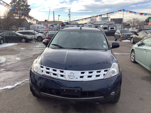 2004 Nissan Murano for sale at GPS Motors in Denver CO