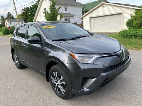 2018 Toyota RAV4 for sale at Via Roma Auto Sales in Columbus OH