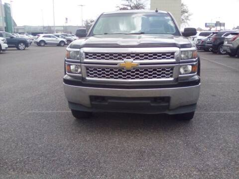 2015 Chevrolet Silverado 1500 for sale at JOE BULLARD USED CARS in Mobile AL