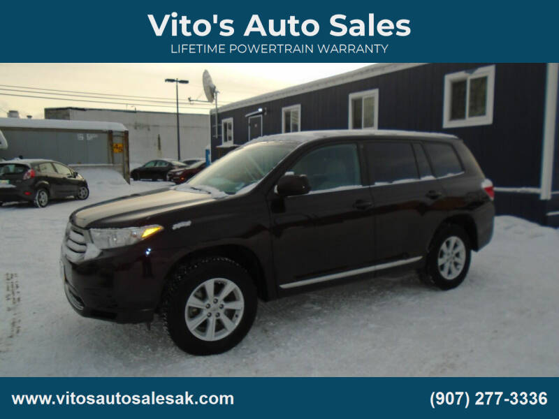 2013 Toyota Highlander for sale at Vito's Auto Sales in Anchorage AK