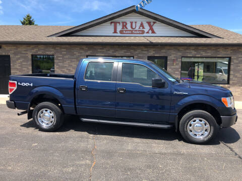 2014 Ford F-150 for sale at Truax Auto Sales Inc. in Deer Creek MN