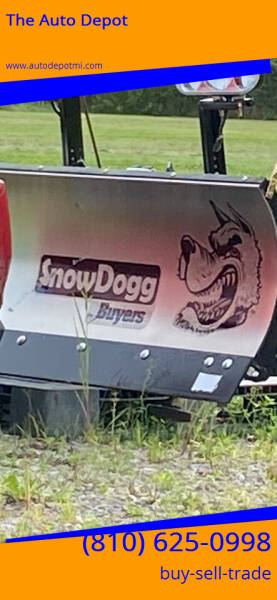 Brand New Snow Dogg Plow Brannew Snowdog Plow for sale at The Auto Depot in Mount Morris MI