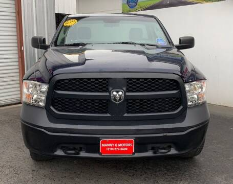2017 RAM Ram Pickup 1500 for sale at Manny G Motors in San Antonio TX