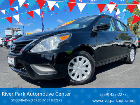 2017 Nissan Versa for sale at River Park Automotive Center in Fresno CA