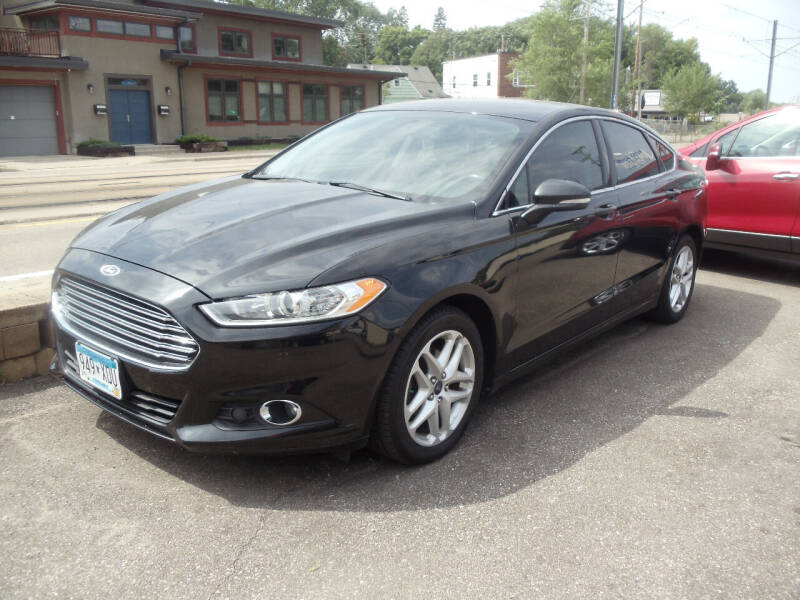 2014 Ford Fusion for sale at Metro Motor Sales in Minneapolis MN
