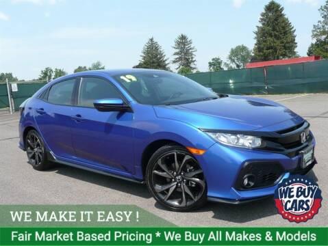 2019 Honda Civic for sale at Shamrock Motors in East Windsor CT