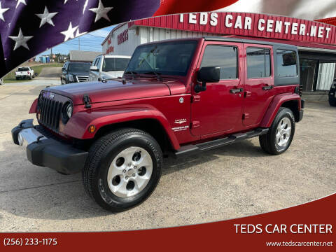 2013 Jeep Wrangler Unlimited for sale at TEDS CAR CENTER in Athens AL