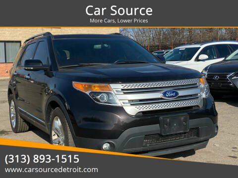 2013 Ford Explorer for sale at Car Source in Detroit MI