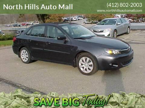 2011 Subaru Impreza for sale at North Hills Auto Mall in Pittsburgh PA