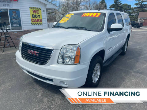 2013 GMC Yukon XL for sale at Excel Auto Sales LLC in Kawkawlin MI