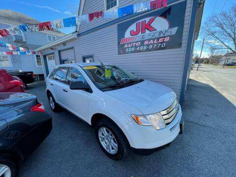 2010 Ford Edge for sale at JK & Sons Auto Sales in Westport MA