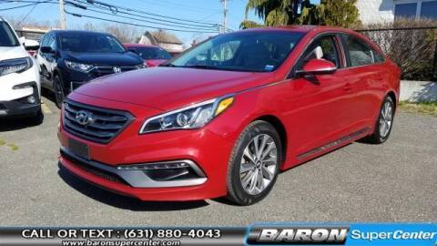 2017 Hyundai Sonata for sale at Baron Super Center in Patchogue NY