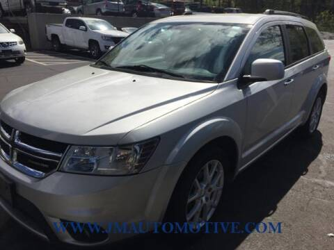 2011 Dodge Journey for sale at J & M Automotive in Naugatuck CT