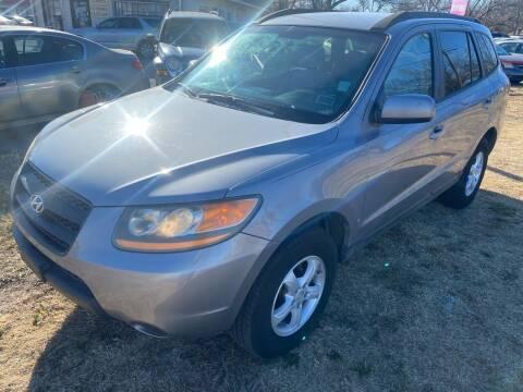 2008 Hyundai Santa Fe for sale at Texas Select Autos LLC in Mckinney TX