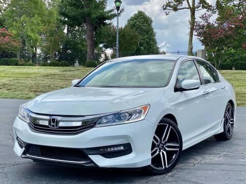 2016 Honda Accord for sale at Sebar Inc. in Greensboro NC