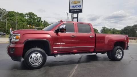 2018 GMC Sierra 3500HD for sale at Whitmore Chevrolet in West Point VA