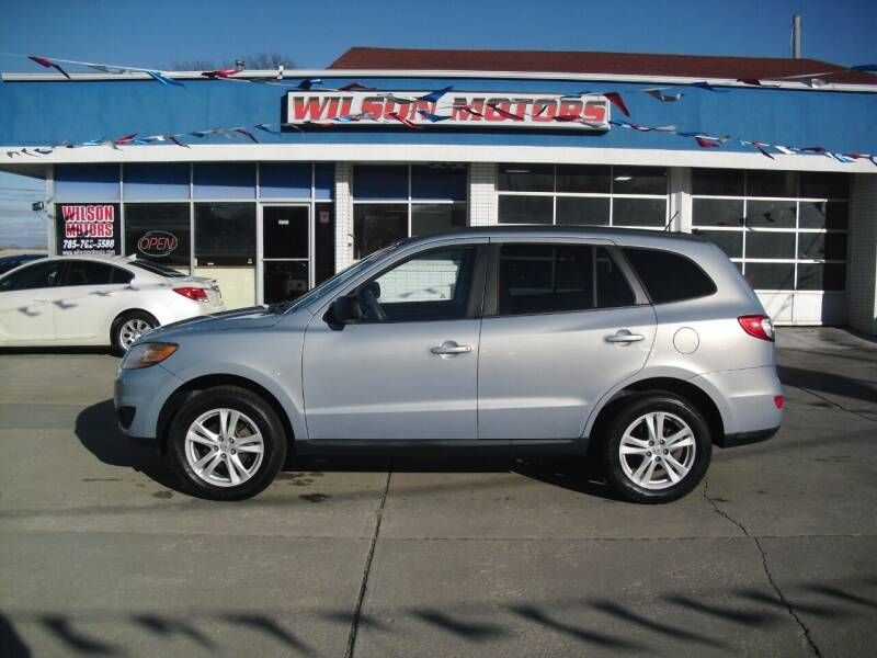 2010 Hyundai Santa Fe for sale at Wilson Motors in Junction City KS