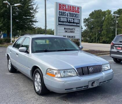 2003 Mercury Grand Marquis for sale at Reliable Cars & Trucks LLC in Raleigh NC