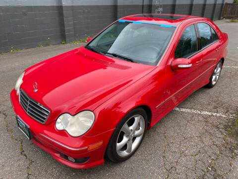 2005 Mercedes-Benz C-Class for sale at APX Auto Brokers in Lynnwood WA