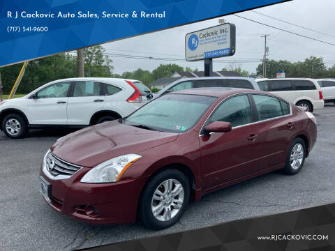 2010 Nissan Altima for sale at R J Cackovic Auto Sales, Service & Rental in Harrisburg PA
