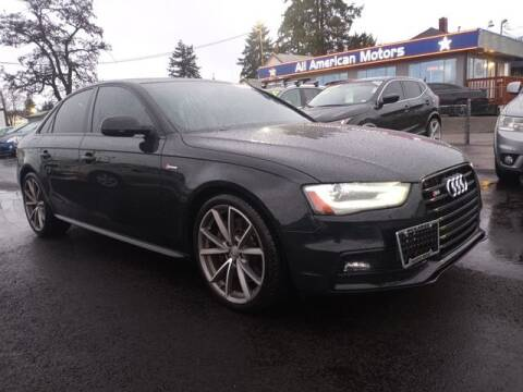 2015 Audi S4 for sale at All American Motors in Tacoma WA