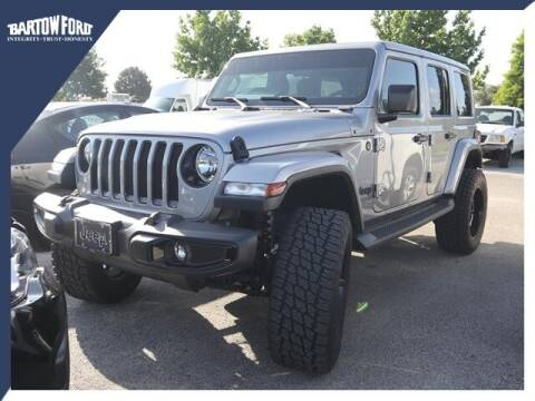 2020 Jeep Wrangler Unlimited for sale at BARTOW FORD CO. in Bartow FL