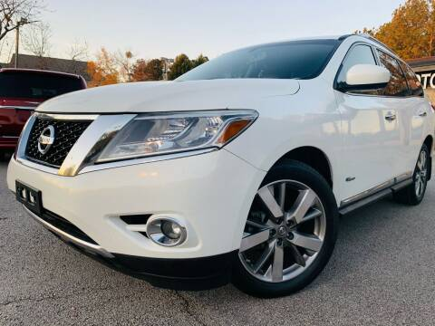 2014 Nissan Pathfinder Hybrid for sale at Classic Luxury Motors in Buford GA