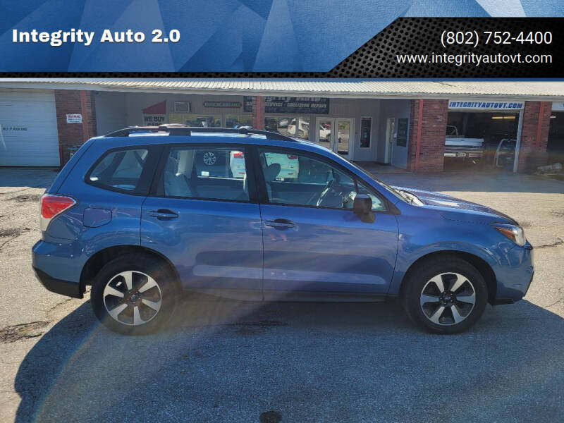 2018 Subaru Forester for sale at Integrity Auto 2.0 in Saint Albans VT