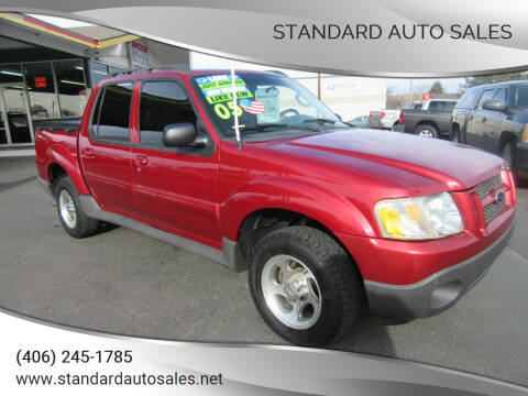 2005 Ford Explorer Sport Trac for sale at Standard Auto Sales in Billings MT