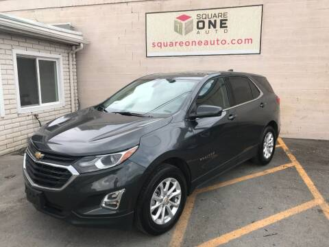 2019 Chevrolet Equinox for sale at SQUARE ONE AUTO LLC in Murray UT