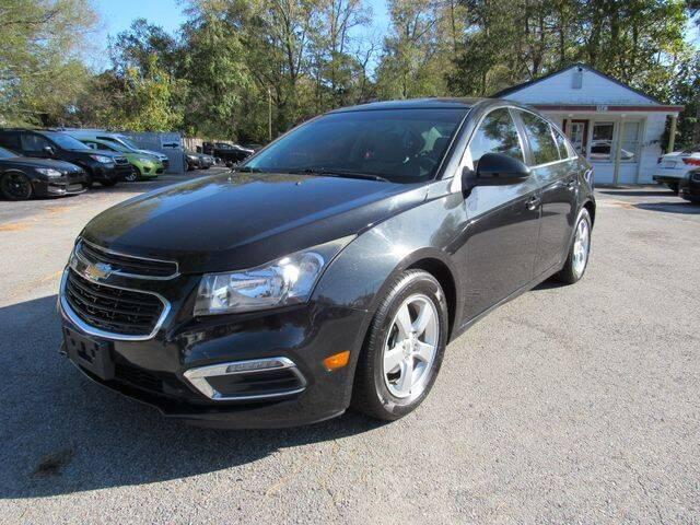 2015 Chevrolet Cruze for sale at Atlantic Auto Sales in Chesapeake VA