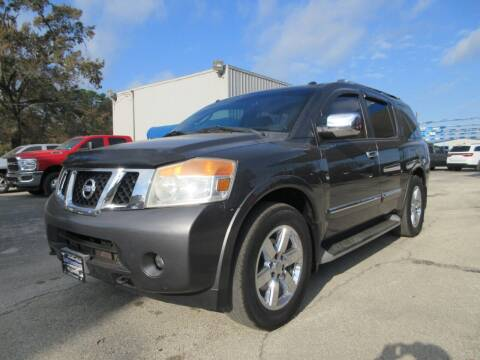 2011 Nissan Armada for sale at Quality Investments in Tyler TX