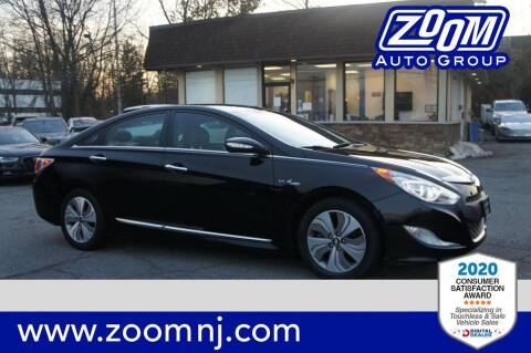2015 Hyundai Sonata Hybrid for sale at Zoom Auto Group in Parsippany NJ