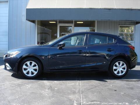 2015 Mazda MAZDA3 for sale at PRIDE AUTO SALES LLC in Nokomis FL