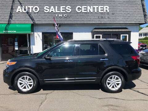 2015 Ford Explorer for sale at Auto Sales Center Inc in Holyoke MA