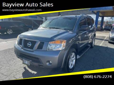 2014 Nissan Armada for sale at Bayview Auto Sales in Waipahu HI