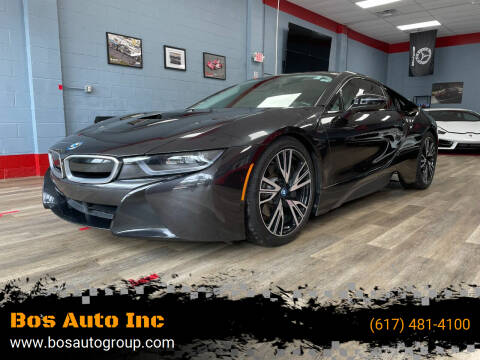 2015 BMW i8 for sale at Bos Auto Inc in Quincy MA