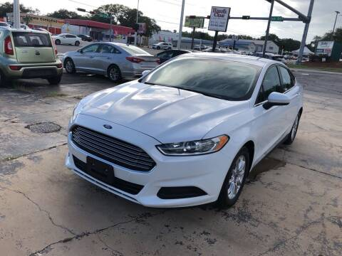 2016 Ford Fusion for sale at Beach Cars in Fort Walton Beach FL