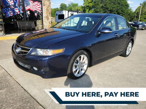 2007 Acura TSX for sale at TR Motors in Opelika AL