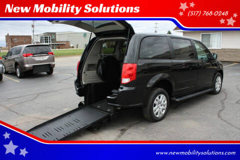 2015 Dodge Grand Caravan for sale at New Mobility Solutions in Jackson MI