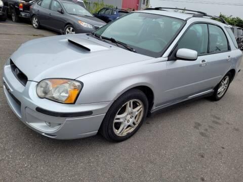 2004 Subaru Impreza for sale at JG Motors in Worcester MA