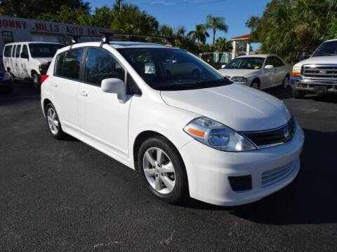 2012 Nissan Versa for sale at DONNY MILLS AUTO SALES in Largo FL