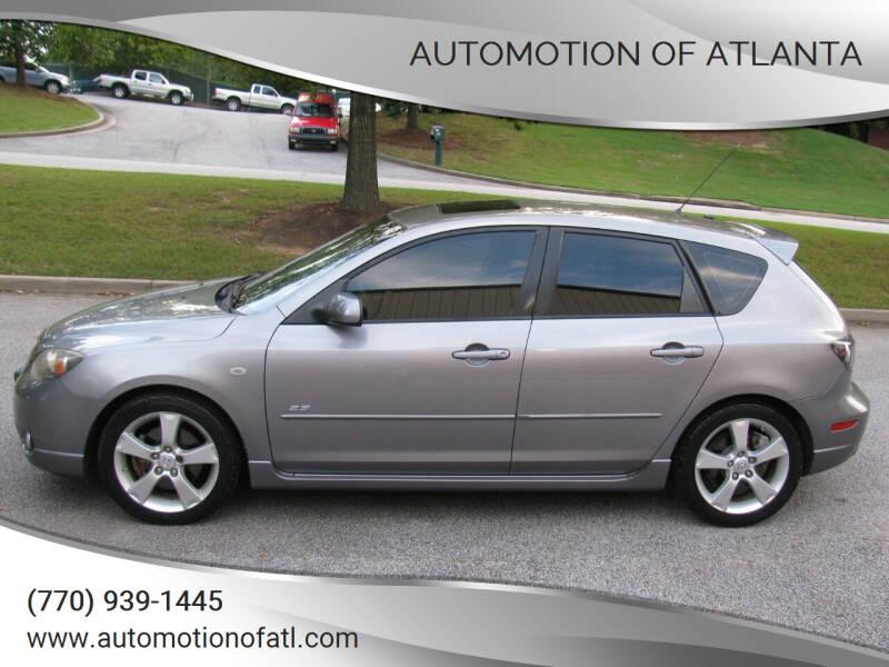 2006 Mazda MAZDA3 for sale at Automotion Of Atlanta in Conyers GA