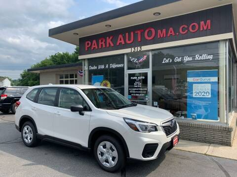 2021 Subaru Forester for sale at Park Auto LLC in Palmer MA