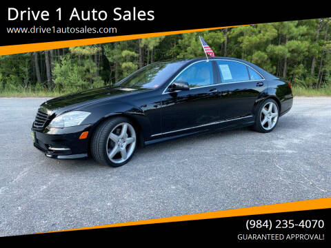 2011 Mercedes-Benz S-Class for sale at Drive 1 Auto Sales in Wake Forest NC