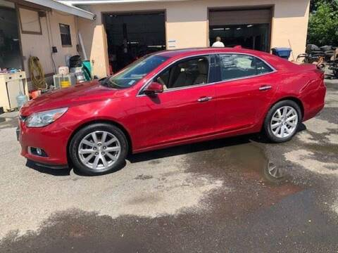 2014 Chevrolet Malibu for sale at Affordable Auto Detailing & Sales in Neptune NJ