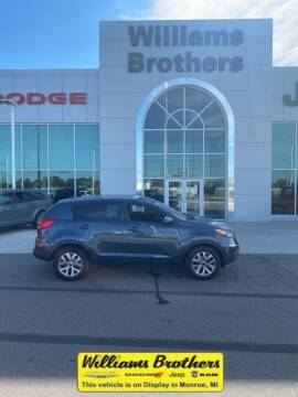 2015 Kia Sportage for sale at Williams Brothers - Pre-Owned Monroe in Monroe MI