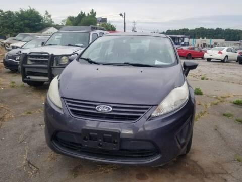 2013 Ford Fiesta for sale at DREWS AUTO SALES INTERNATIONAL BROKERAGE in Atlanta GA